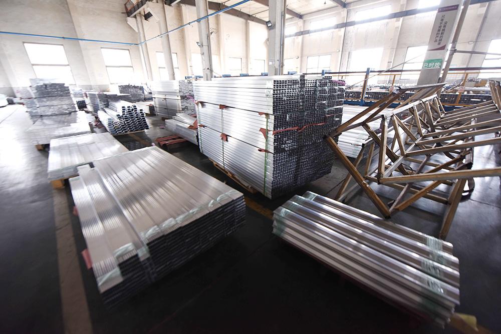 Aluminum-warehouse
