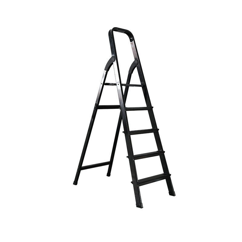 What are the precautions when using aluminum alloy ladders?